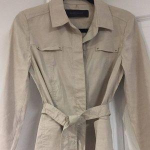 Elie Tahari Linen Lightweight Jacket